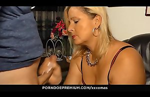 XXX OMAS - German BBW Kiki R. is a real cock..