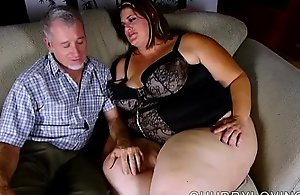 Leader sexy big beautiful woman enjoys..
