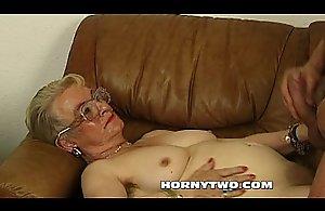 Muddy fat granny venerable cookie shafting..