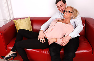 Hot German Slutwife Acquires A Massage With an..