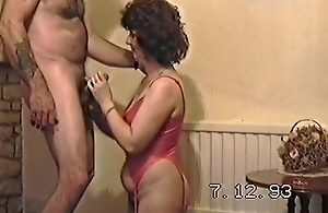 Mature Woman Doing Nudie And Get A Blowjob