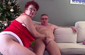 Santa Woman Cums Early This Year