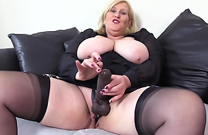 Filthy Big Tit Step Mom In Stockings Wants You..