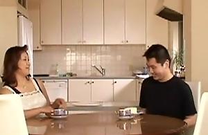 Japanes Mom And Boy 01