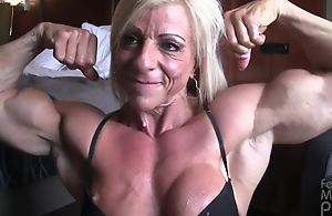 Glum Mature Muscle Milf Mad about..