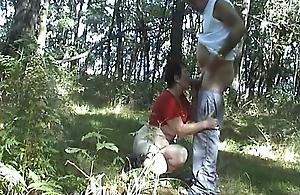 Gemeinsam Im Wald Wichsen
