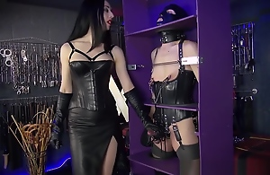 Lady Mephista - Beaten and Boxed Slave