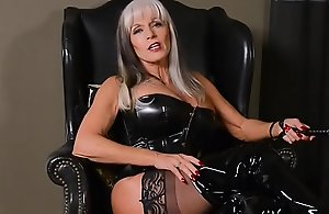 Dominant older in latex can't live..