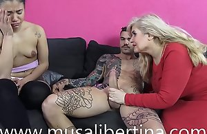 My stepmother craves to fuck my old..