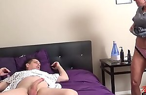 Dr Payton Hall fucks her young male..