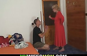 Wife finds him fucking female parent inlaw!