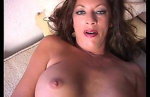 Morose cougar undresses enhanced by..