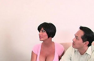 Cuckold whisper suppress watches his hotwife..