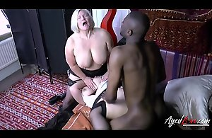 AgedLovE Lacey Starr Interracial Trinity