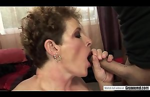 Pissing mature fucked less