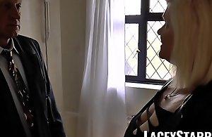 LACEYSTARR - Mature English babe..