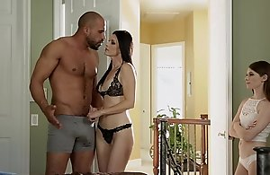 Teen plot her foster dad's dong with..