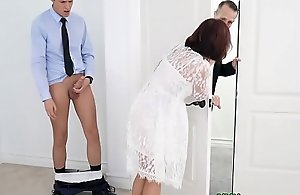 Well-endowed Step-Mom Fucked Before Wedding