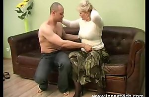 blonde mommy and her young guy on..