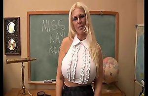 Busty superannuated spunker teaches u..