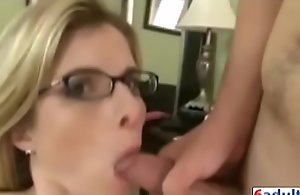 Cory woo in step wet-nurse made her..