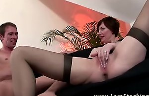 Sexy grown-up lass fucked