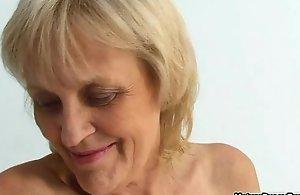Grandma gets a dynamic body contain outlander