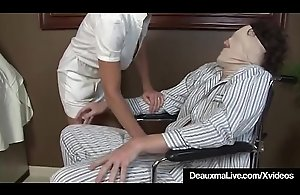 Busty Adult Nurse Deauxma Gives..