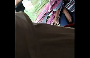Big chunky Indian mature aunty