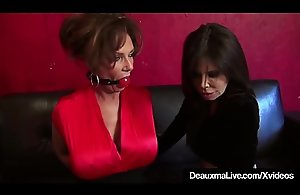 Mature Cougars Deauxma &_ Ashley Renee Bound &_..