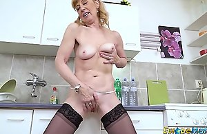 EuropeMaturE Older Mature Lady Unparalleled Spoof